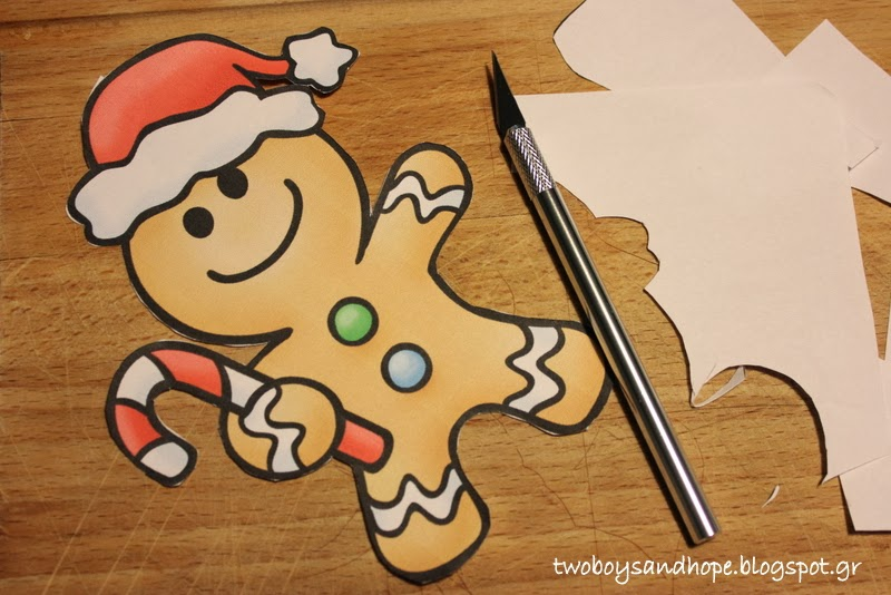 Μικρό Χριστουγεννιάτικο παζλ…