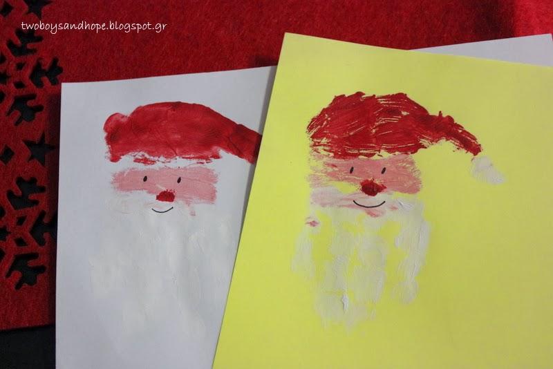 Χριστουγεννιάτικες ζωγραφιές..
