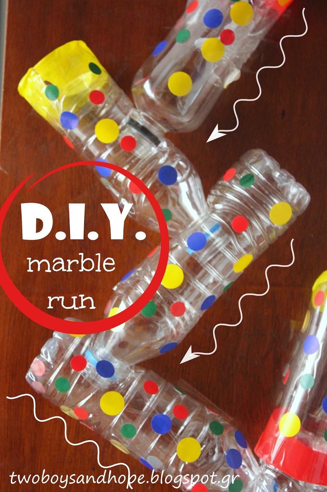 Παίζουμε ..με μπίλιες.. ή αλλιώς.. marble run..