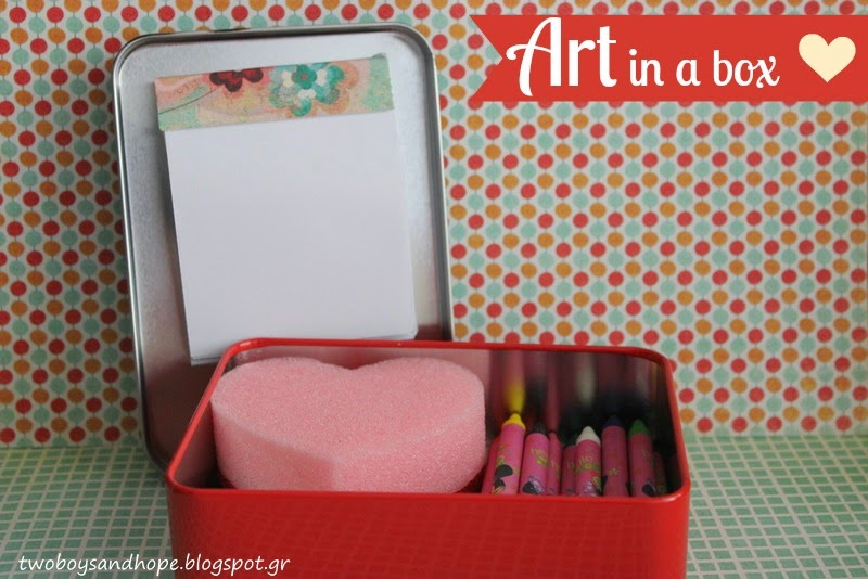 Art in a box..