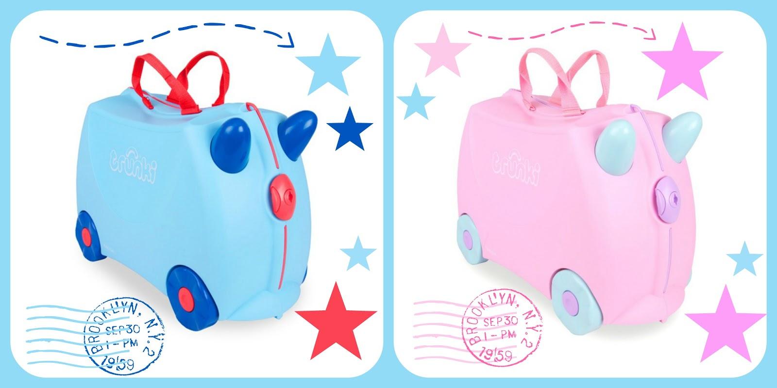 Παιχνιδιάρικες βαλίτσες trunki για 2 τυχερά παιδάκια {αποτελέσματα- giveway}