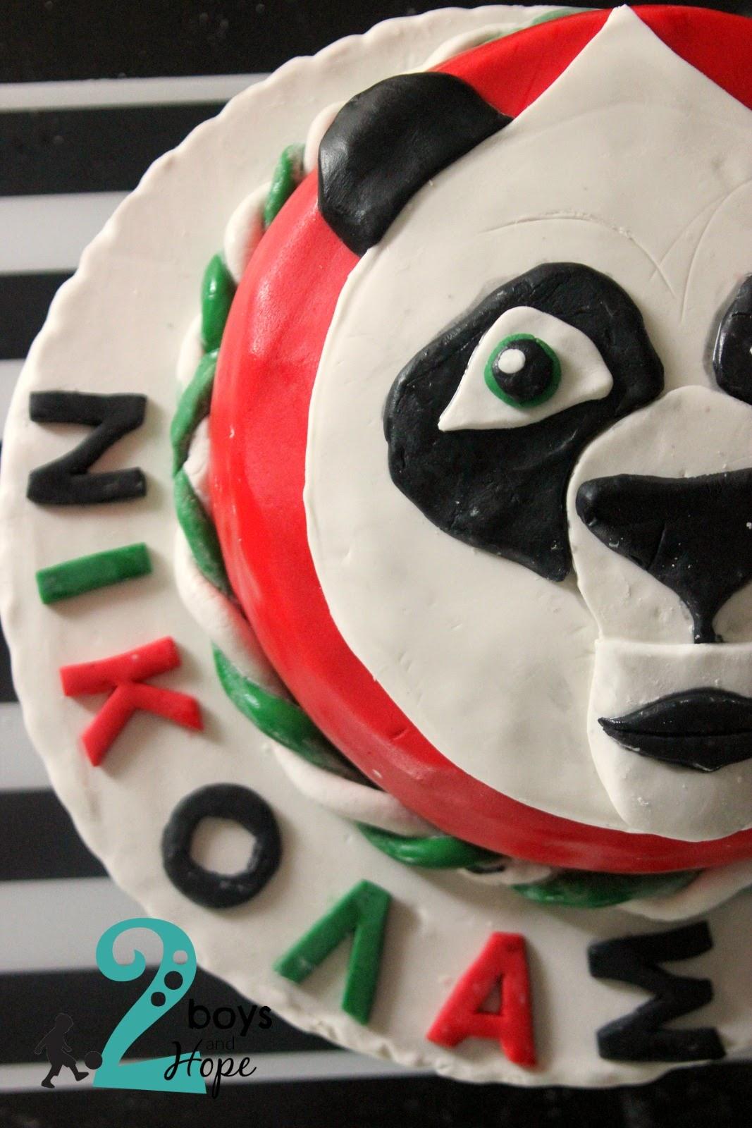 Μικρά γενέθλια και τούρτα Kung fu panda
