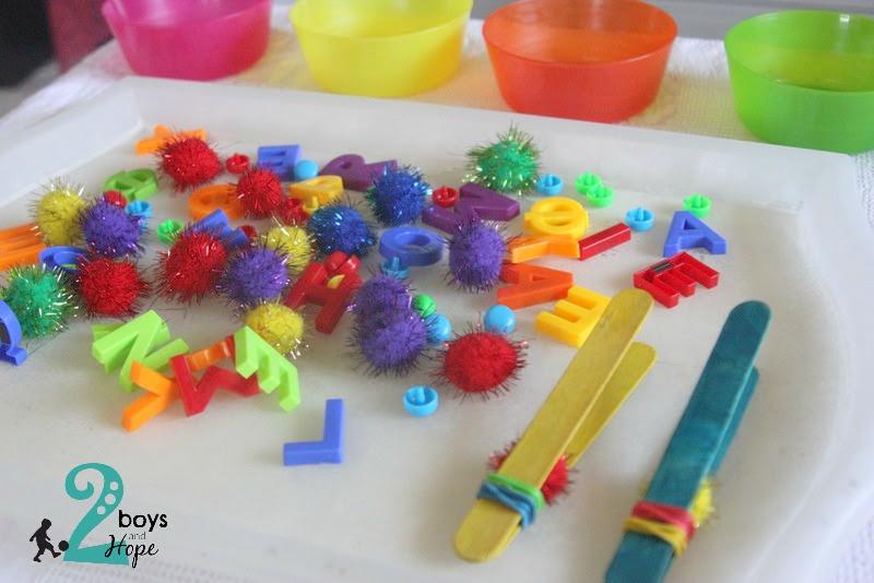 Παίζουμε… με τα χρώματα!!!