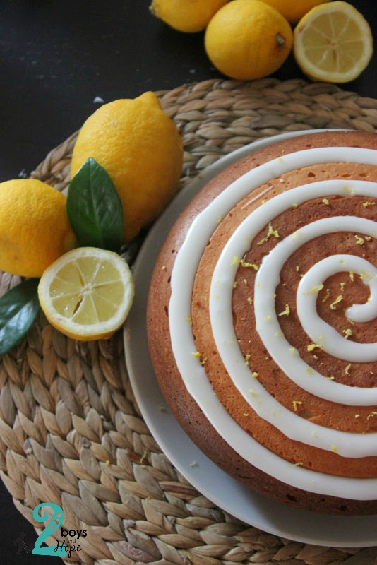 Κέικ με λεμόνι ..