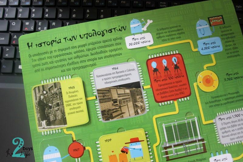 Διαβάζουμε: Το πρώτο μου βιβλίο για ηλεκτρονικούς υπολογιστές και προγραμματισμό