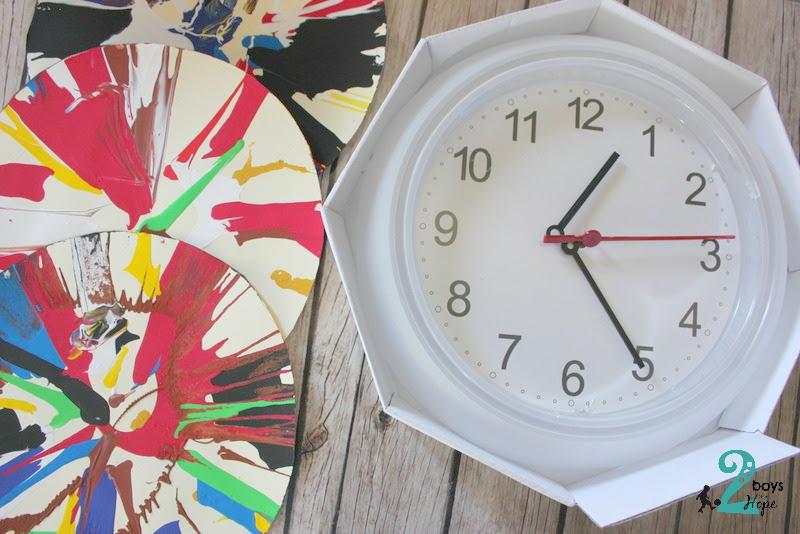 Φτιάχνουμε ρολόι τοίχου