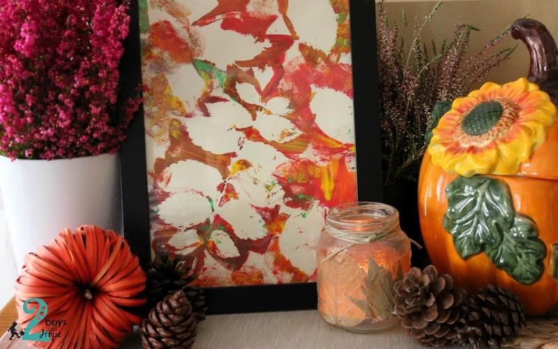 Το φθινόπωρο στο σπίτι μας + ένα εύκολο diy dry erase board