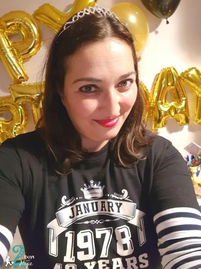 Ο μαγικός αριθμός 40-τα γενέθλια μου!!!