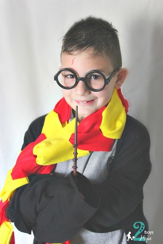 Φτιάχνουμε .. στολή Harry Potter