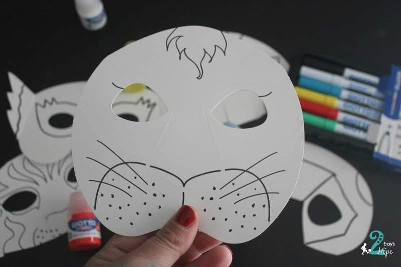 Φτιαχνουμε : Μασκες Σουπερ Ηρωες
