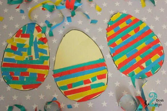 ψηφιδωτά αυγά