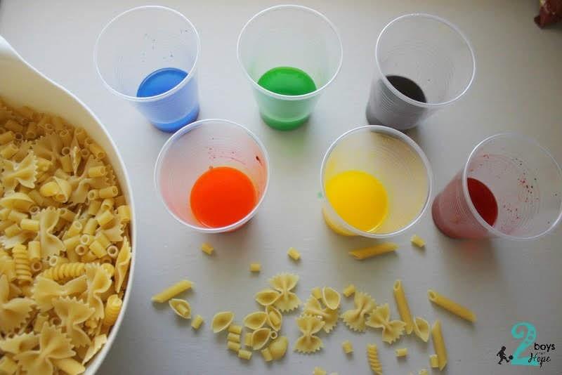 ΠΩΣ ΝΑ ΦΤΙΑΞΕΤΕ ΠΟΛΥΧΡΩΜΑ ΜΑΚΑΡΟΝΙΑ – Rainbow Pasta