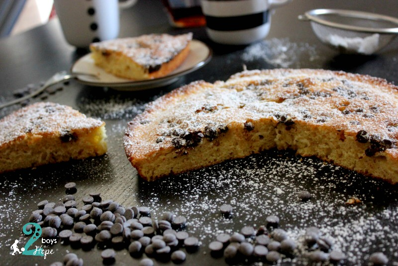 Τεράστιο Pancake στο φούρνο