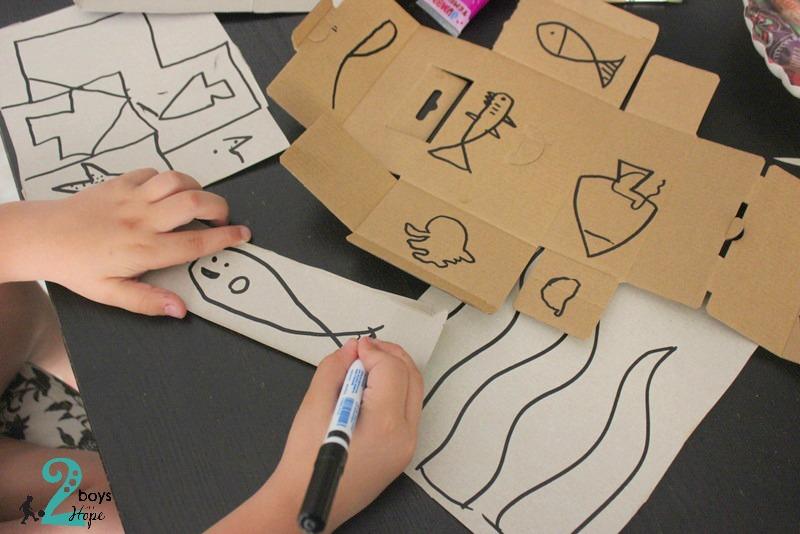 Τρισδιάστατος βυθός – χειροτεχνία για παιδιά