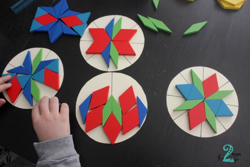 συμμετρικά μοτίβα