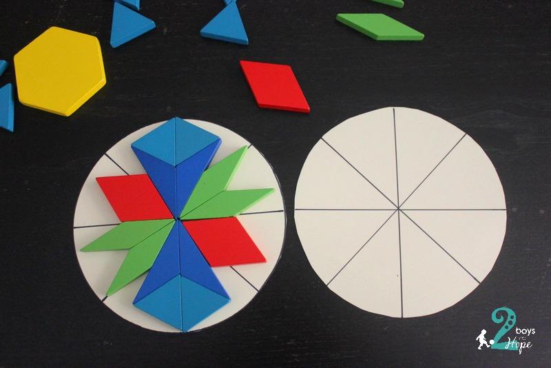 συμμετρικά μοτίβα με σχηματα 6