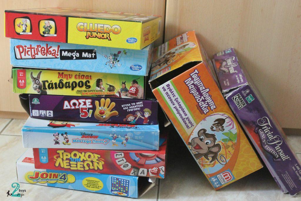 πως να οργανώσετε τα επιτραπέζια παιχνίδια σας 6