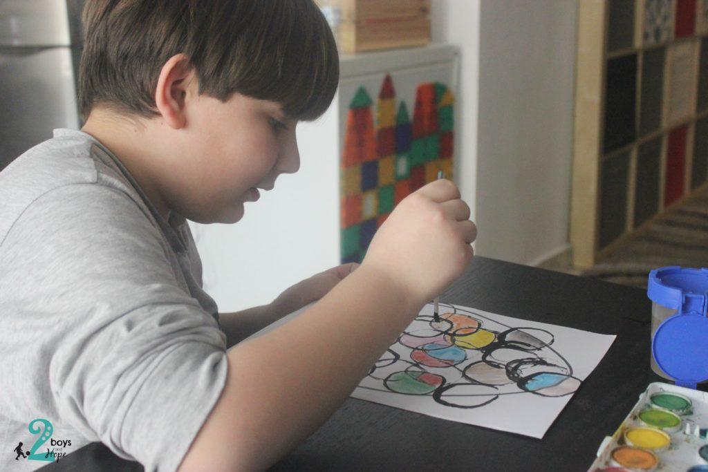 ζωγραφίζουμε πασχαλινά αυγά