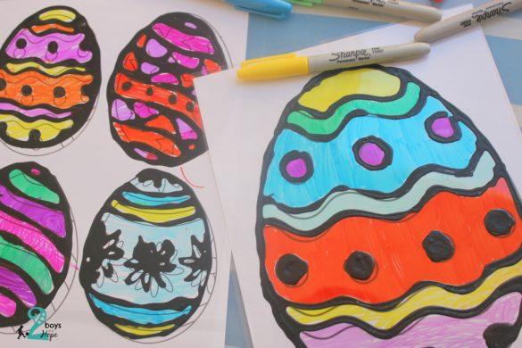χειροτεχνία πασχαλινά αβγά