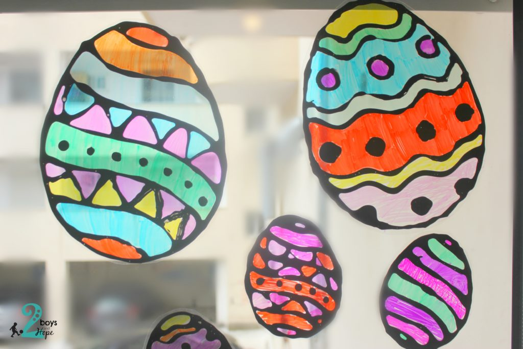 πασχαλινά αβγά βιτρώ
