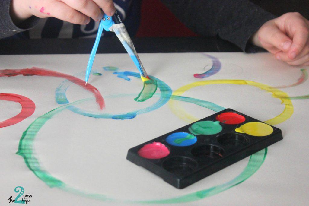 ζωγραφική με διαβήτη
