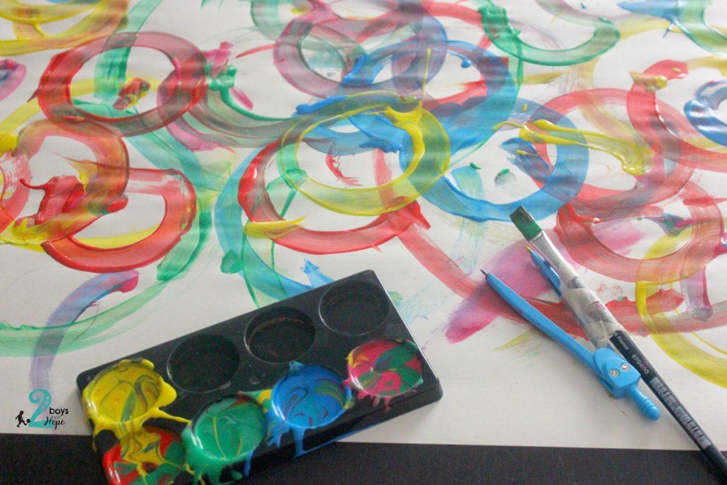 ζωγραφίζουμε με διαβήτη