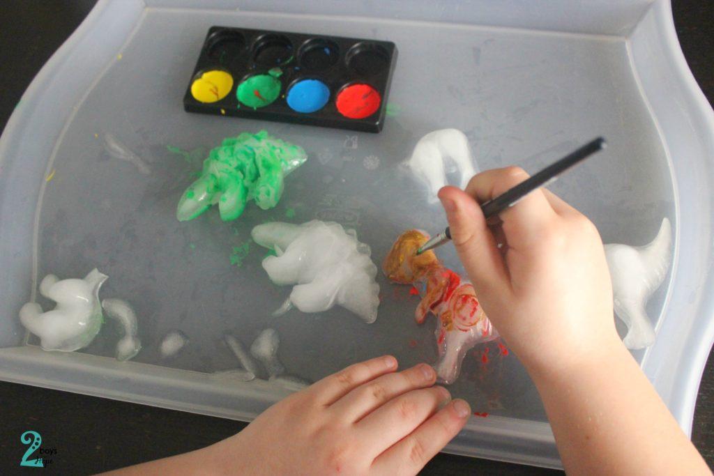 ζωγραφίζουμε παγάκια