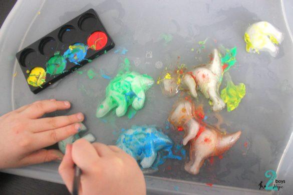 παγάκια δεινόσαυροι