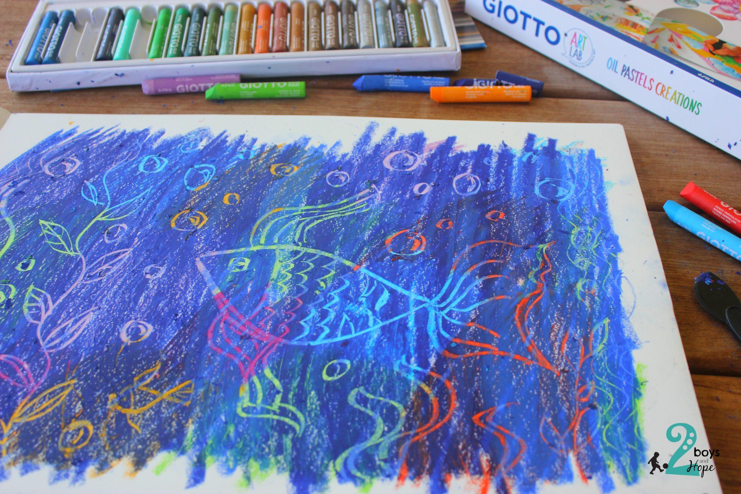 Ζωγραφίζουμε με την τεχνική Scratch Art με Giotto Art Lab